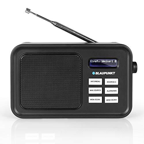 Blaupunkt DAB+ Radio RXD 60 mit Akku-Betrieb, tragbares UKW-Radio mit Aux-In und Teleskop-Antenne