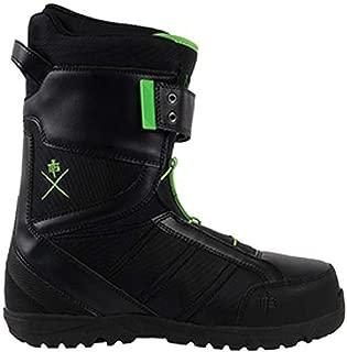 M3 Millenium Three Tactic Black/Green Mens Snowboard Boots Size 7