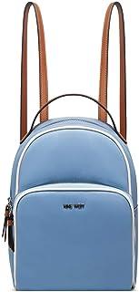 حقيبة ظهر عصرية للسيدات من ناين ويست - ازرق