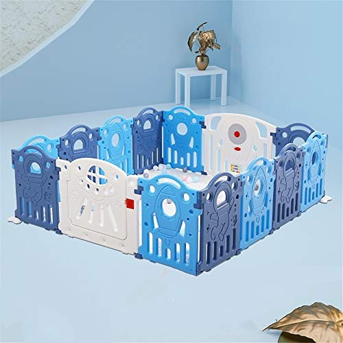 Best Prices! Lyntop Portable Playard Children's Play Fence Indoor Home Baby Safety Fence Baby Playgr...
