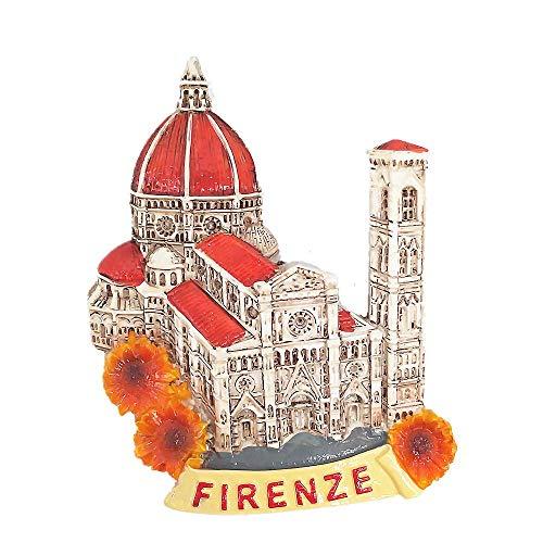 Calamita da frigorifero 3D Firenze Italia Firenze viaggio souvenir regalo decorazione casa e cucina magnete frigorifero Firenze