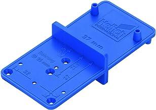 Hettich MultiBlue 9220193 Borensjabloon voor scharnieren, verbindingsbeslag, systeemboringen, sjabloon voor de montage van...