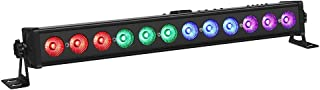 LED Stage Lights, OPPSK 21'' 36W 12LEDs Stage Wash Light RGB Tricolors DMX Control for Birthday Wedding Party DJ Stage Lighting