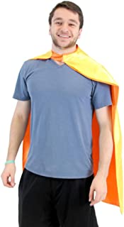 Reversible Adult Superhero Costume Capes