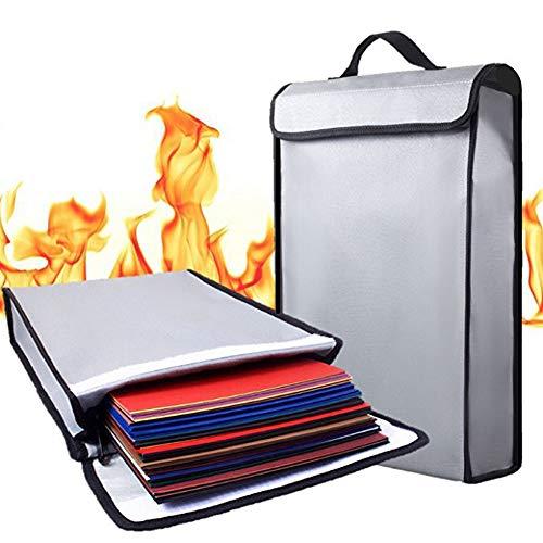 Vuurvaste documententas, vuurbestendig, waterdicht, van hoogwaardig silicone glasvezel