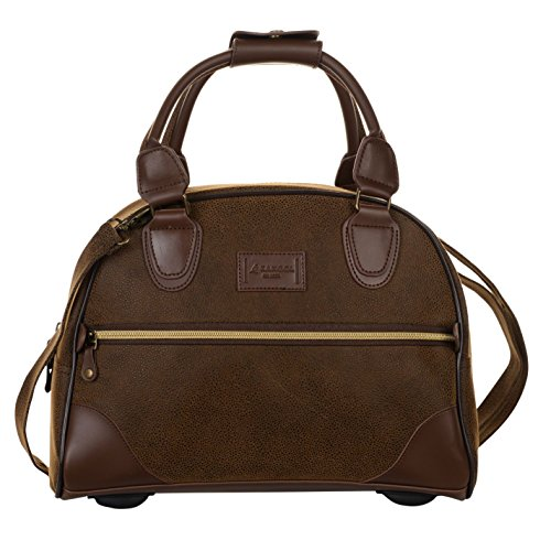 Kangol Unisex XS Carry On Bag Holdall Zip Brown One Size