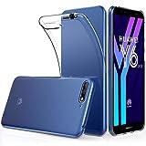 Peakally Huawei Y6 2018 Hülle, Soft Silikon Dünn