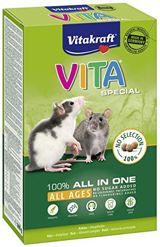 Vitakraft Vita Special All in One, Hauptfutter für Ratten, 600g Packung (1 x 600g)