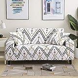 Fundas de sofá elásticas geométricas para Sala de Estar Funda de sofá Moderna para Silla de sofá de Diferentes Formas Funda de sofá de Estilo L Funda de cojín A17