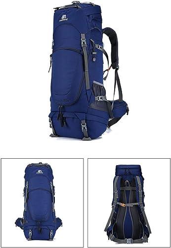 Suyifan Sac d'alpinisme 80L Sports de Plein air Sac à Dos randonnée Camping Hommes et Femmes Sac de Voyage Camping Sac à Dos