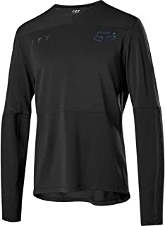 Fox Racing Defend Delta Long-Sleeve Jersey - Men's Black, L