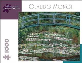 Claude Monet 1000 Piece Puzzle The Japanese Footbridge
