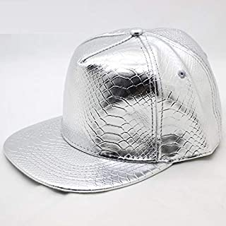 Cappellino da Baseball KTENME Traspirante Regolabile Stile Hip Hop in Raso Poliestere Tinta Unita 56-60cm Colori Pastello Blue