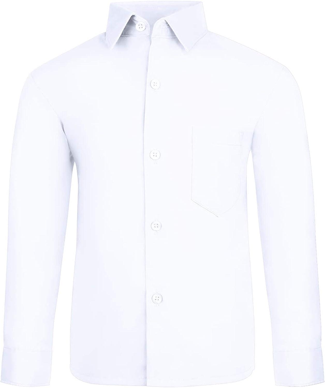 S.H. Churchill & Co. Boy's Long-Sleeve Button Down Dress Shirt