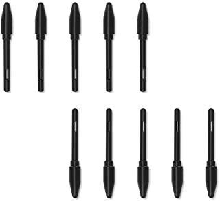 HUION 10 Pack Replacement Nibs PN04 for Drawing Tablet PW100 Stylus, Suitable for H610 ProV2/H640P/H950P/H1060P/HS610/H116...