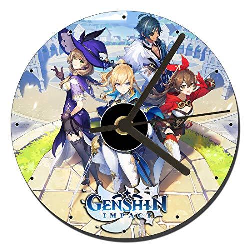 MasTazas Genshin Impact Reloj CD Clock 12cm