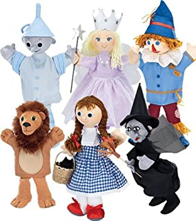 HearthSong Wizard of Oz Costumed Puppets Special, Set of 6