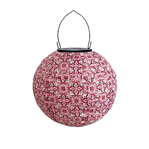 1 farolillo LED solar para fiestas en el jardín, con forma de bola, resistente al agua, para decoración de bodas o fiestas.