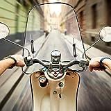 LUCYPAPASHOW 425mm X 460mm Windschutzscheibe Universal Spoiler Motorrad Für Motorräder