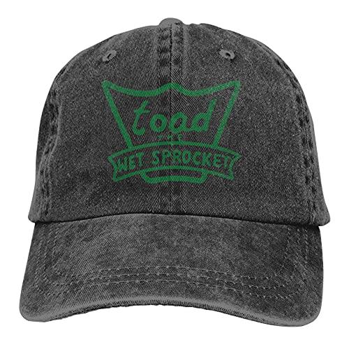 Yuanmeiju Toad The Wet Sprocket Trucks Sombrero de algodón Sombrero de Vaquero Gorras de béisbol Negro