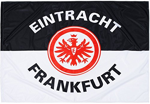 Flaggenfritze Flagge Eintracht Frankfurt Classic - 100 x 135 cm + gratis Aufkleber