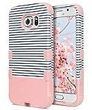 ULAK Galaxy S6 Coque, S6 Coque Housse de Protection Anti-Choc Matériaux Hybrides en...