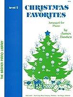 WP50 クリスマスフェボリット レベル2 (英語版) (The Bastien Piano Library)