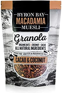 Byron Bay Organic Cacao and Coconut Granola, 400 g