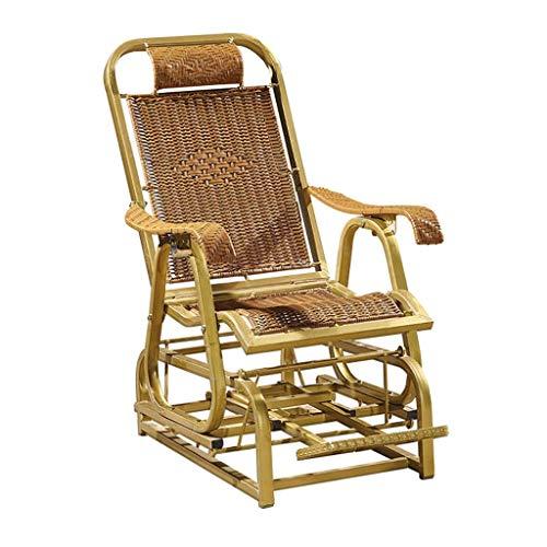 WGFGXQ Rocker Chair, Zero Gravity Folding Armchair, Garden Lounger, Lounger Garden Relaxation, Patio, Garden Lounger (Color: A2)