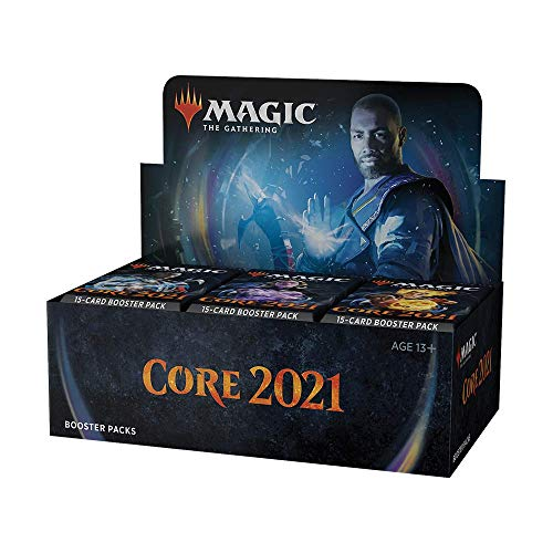 Magic The Gathering MTG Core Set 2021 Draft Display 36 Boosters Englisch, C75030000