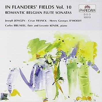In Flanders' Fields Vol. 10: Romantic Belgian Flute Sonatas