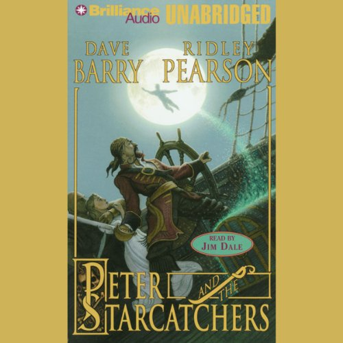Peter and the Starcatchers audiobook cover art