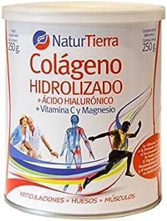 Colágeno Hidrolizado con Magnesio NaturTierra 250 gr