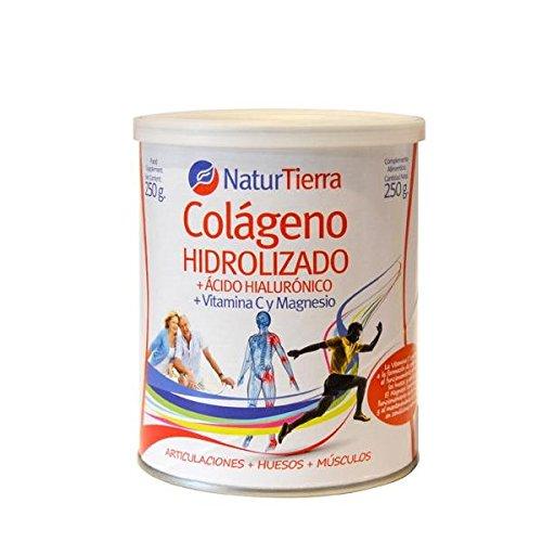 Naturtierra Naturtierra Colágeno Hidrolizado Con Magnesio + Ácido Hialurónico Y Vitamina C 250G 340 g
