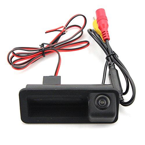 Dynavsal Griffleiste Heckklappe Öffner Taster Schalter Heckschloß Kennzeichenleuchten für Mondeo/Focus Hatchback/ Freelander2 / Mondeo MK4 / CHIA-X Trunk Handle