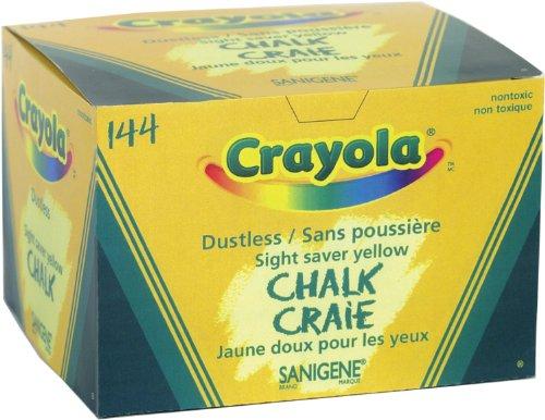 Crayola 144 Yellow Sanigene Dustless Chalk