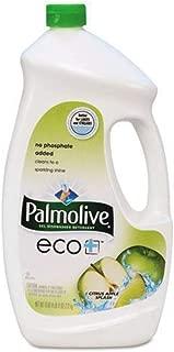 Palmolive Eco Gel Dishwasher Detergent, Citrus Apple Splash, 75 Ounce