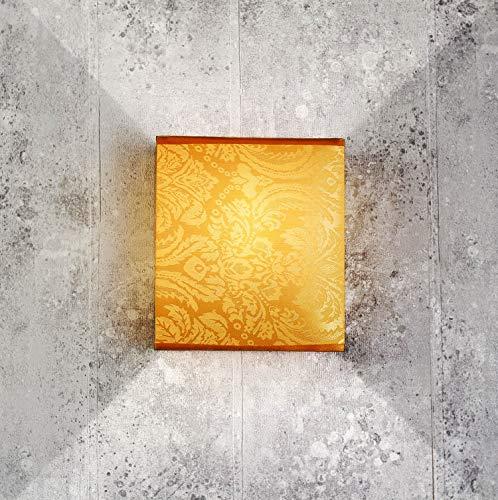 ALICE Dekorative Wandleuchte Loft Design Stoff blendarm Wandlampe E27 Wohnzimmer Schlafzimmer Flur