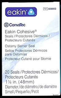 Convatec EAKIN #839002 Ostomy Seals 48mm (Fresh Stock) by ConvaTec