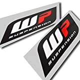 WP Suspension Grafik-Aufkleber, Logo-Aufkleber, große Größe, 2 Stück (Stil 2)