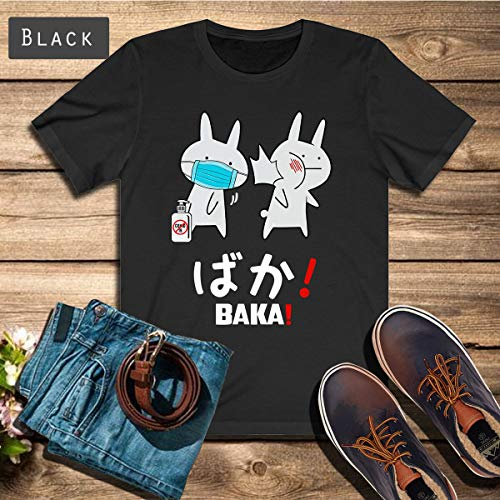 Funny Anime Baka Rabbit Slap Coronavirus Shirt, Funny Tshirt, Tshirt Design, Made in USA and Cad