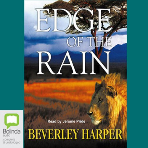 Edge of the Rain audiobook cover art