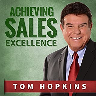 Achieving Sales Excellence cover art