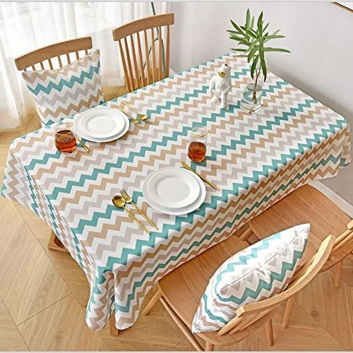 HEZESHOP Tischdecke kann gewaschen Werden Dekorative Tischdecke Tischdecke Rechteckige Tischdecke Tischdecke Kamin Arbeitsplatte 100X130CM