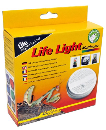 Lucky Reptile LL-1 Life Light mit Multicolor LED, passende LED Leuchte für Insect Tarrium, Life Boxen und Life Pyramide