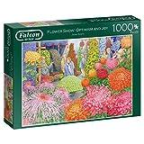Falcon de Flower Show: Optimism and Joy 1000 pcs Puzzle Puzzle Puzzle (Puzzle Puzzle Puzzle, Fleur, Adultes, garçon/Fille, 12 année(s), intérieur)