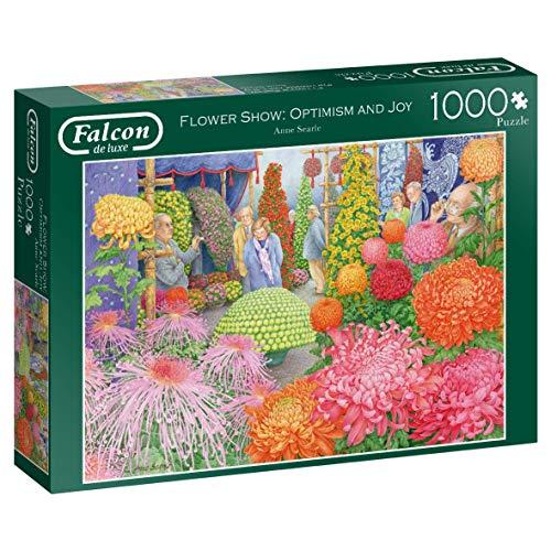 Falcon de Luxe Flower Show: Optimism and Joy 1000 pcs Puzzle   Rompecabezas (Puzzle Rompecabezas, Flora, Adultos, Niño/niña, 12 año(s), Interior)