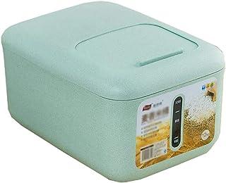 AWAING Bocaux Preuve Conteneurs de céréales de riz en plastique Boîte de rangement Lastic Joint Thicken humidité Cuisine a...
