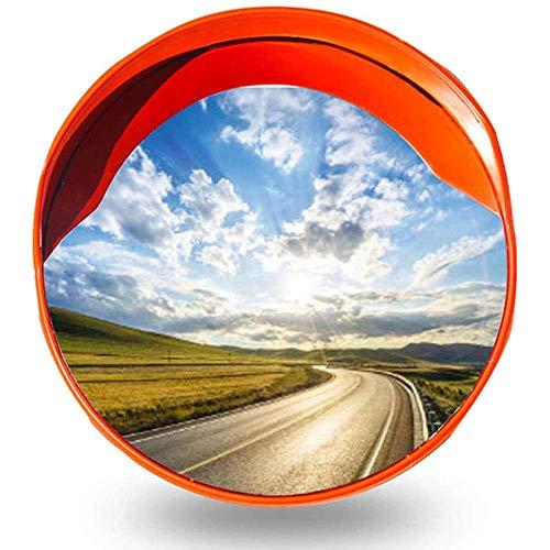 Espejo de seguridad de Security Mirror 45 / 60cm PC convexo, la superficie del espejo tiene un fuerte rendimiento anti-colisión, muy fácil de instalar-60 cm