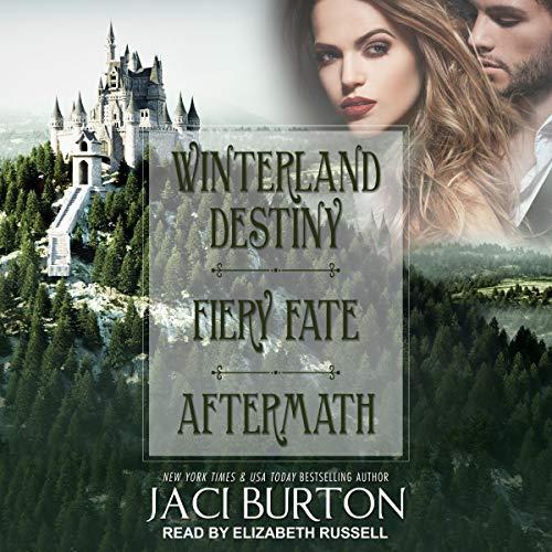 Winterland Destiny, Fiery Fate, Aftermath audiobook cover art
